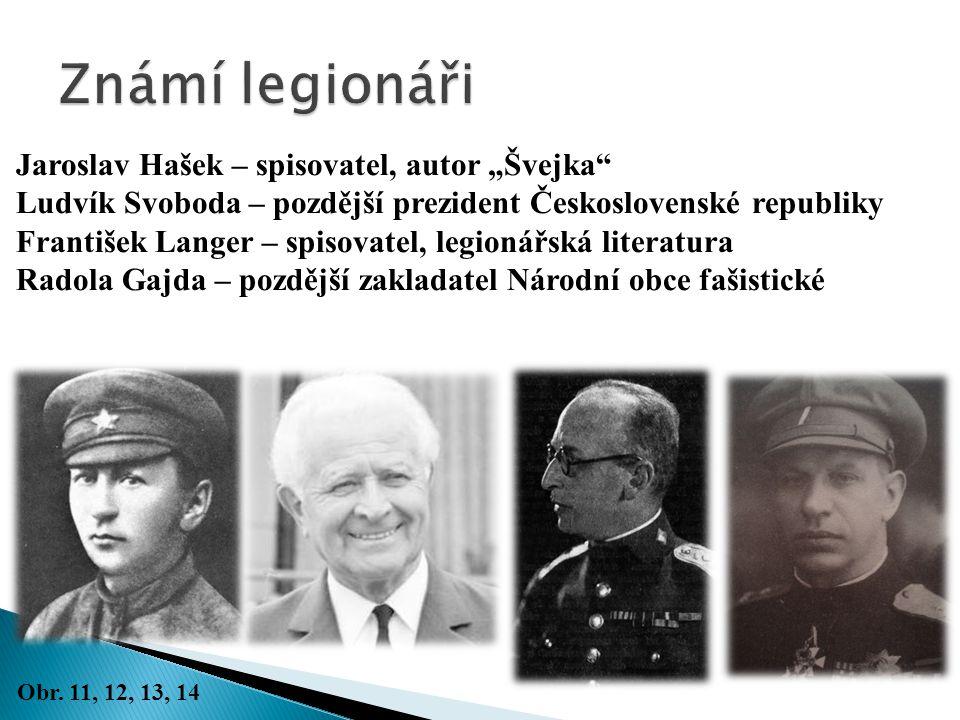 "Známí legionáři Jaroslav Hašek – spisovatel, autor ""Švejka"