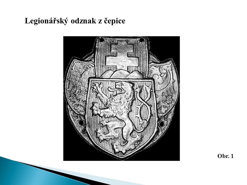 Legionářský odznak z čepice