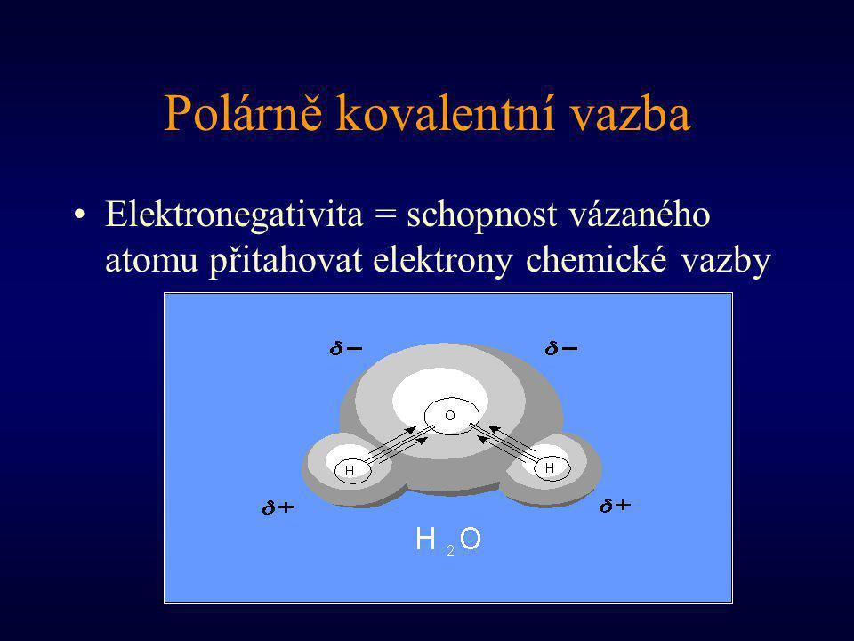 Polárně kovalentní vazba