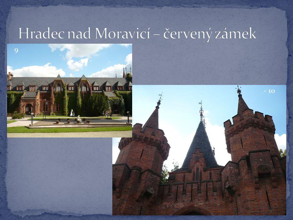 Hradec nad Moravicí – červený zámek