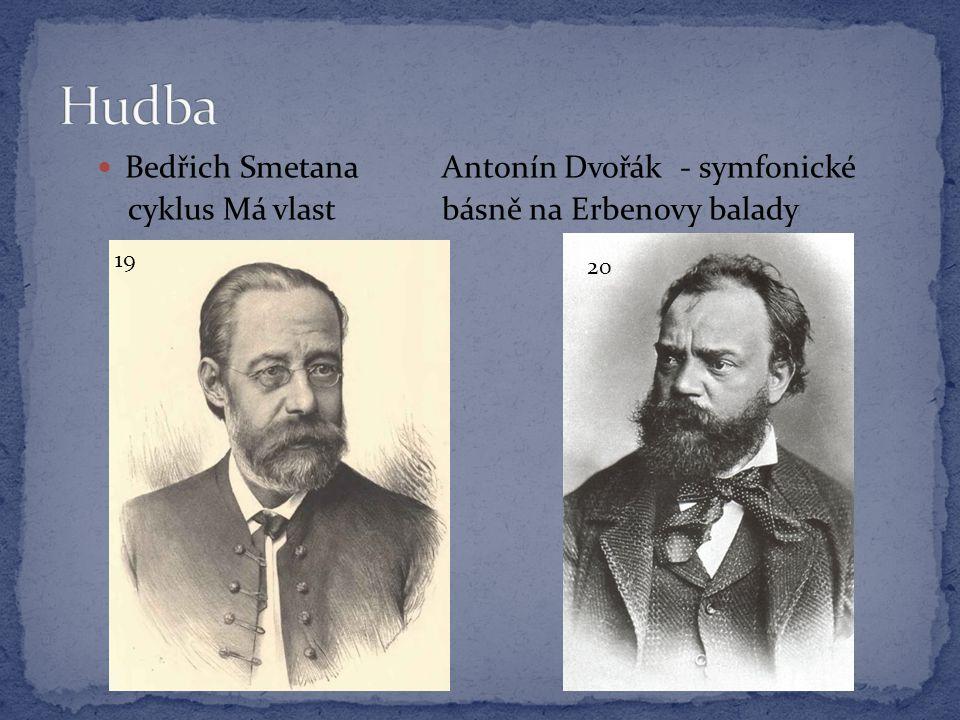 Hudba Bedřich Smetana Antonín Dvořák - symfonické