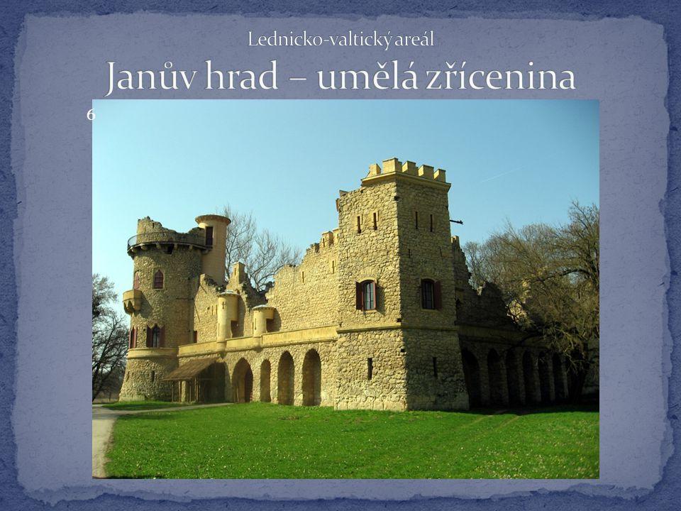Lednicko-valtický areál Janův hrad – umělá zřícenina