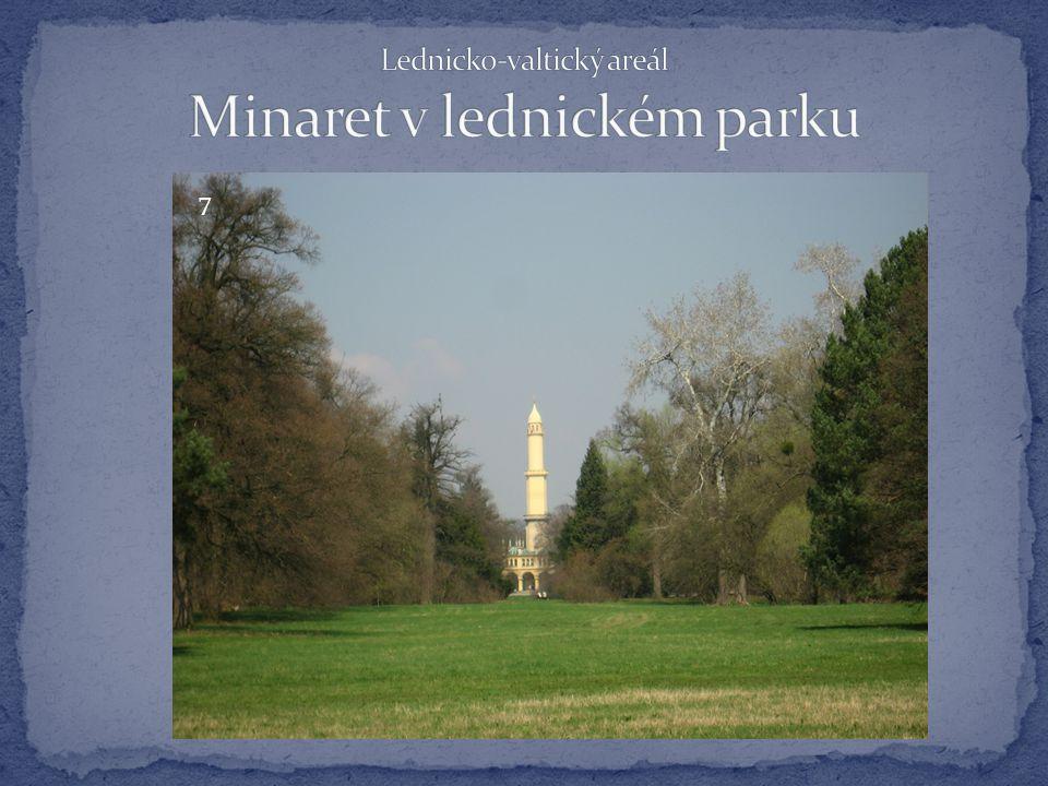 Lednicko-valtický areál Minaret v lednickém parku