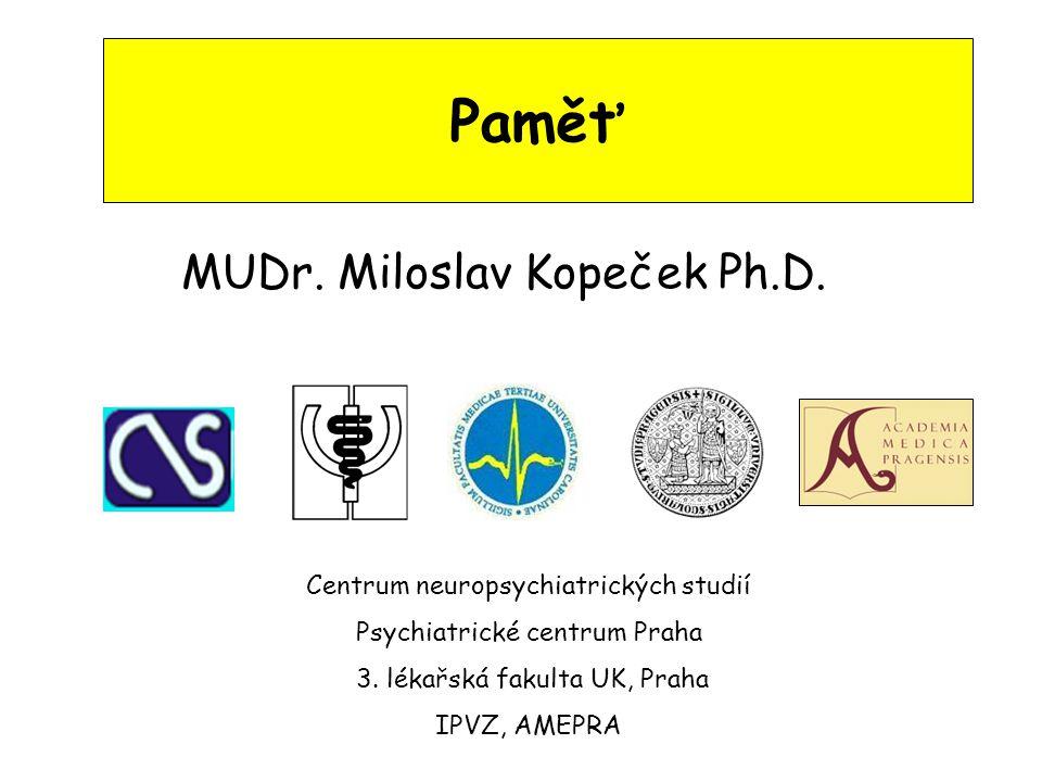 MUDr. Miloslav Kopeček Ph.D.