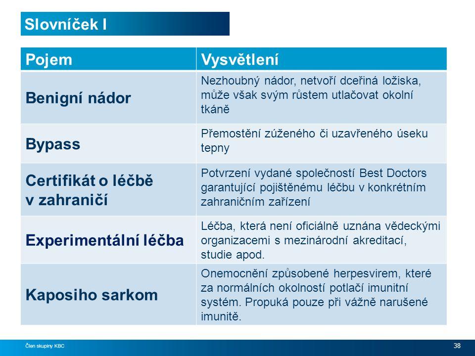 Certifikát o léčbě v zahraničí