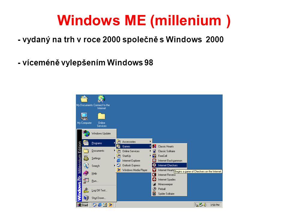 Windows ME (millenium )