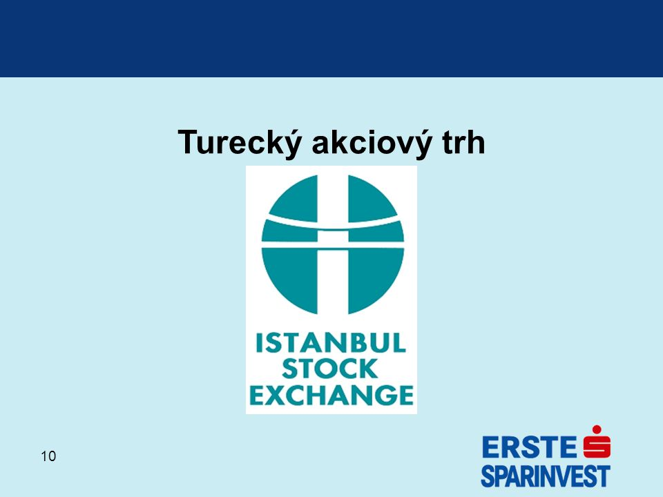Turecký akciový trh
