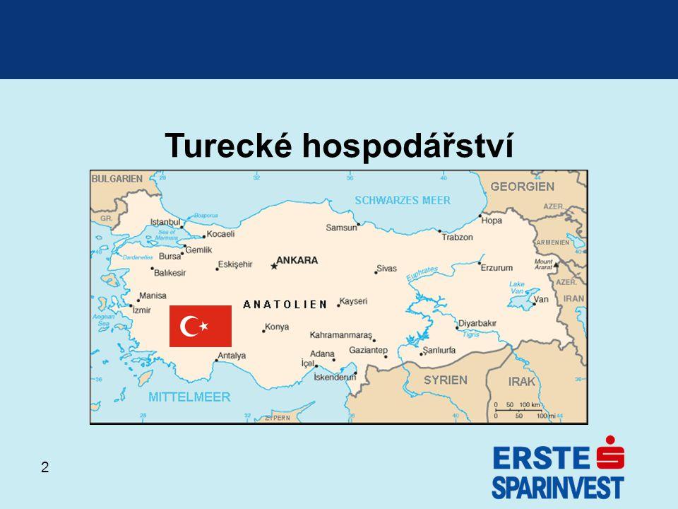 Turecké hospodářství