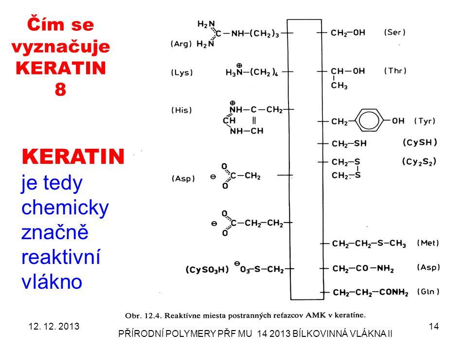 Čím se vyznačuje KERATIN 8