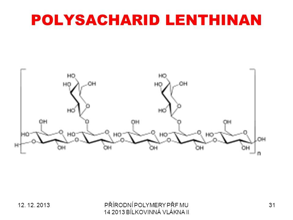 POLYSACHARID LENTHINAN