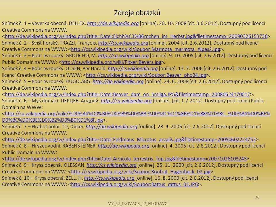 VY_32_INOVACE_12_HLODAVCI