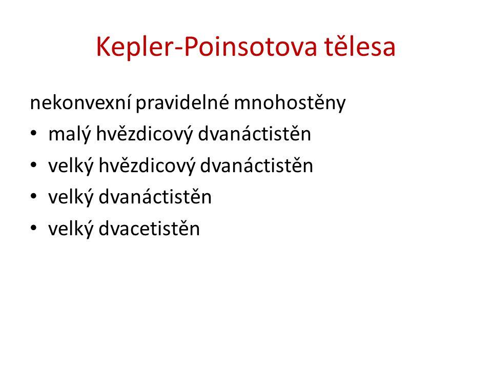 Kepler-Poinsotova tělesa