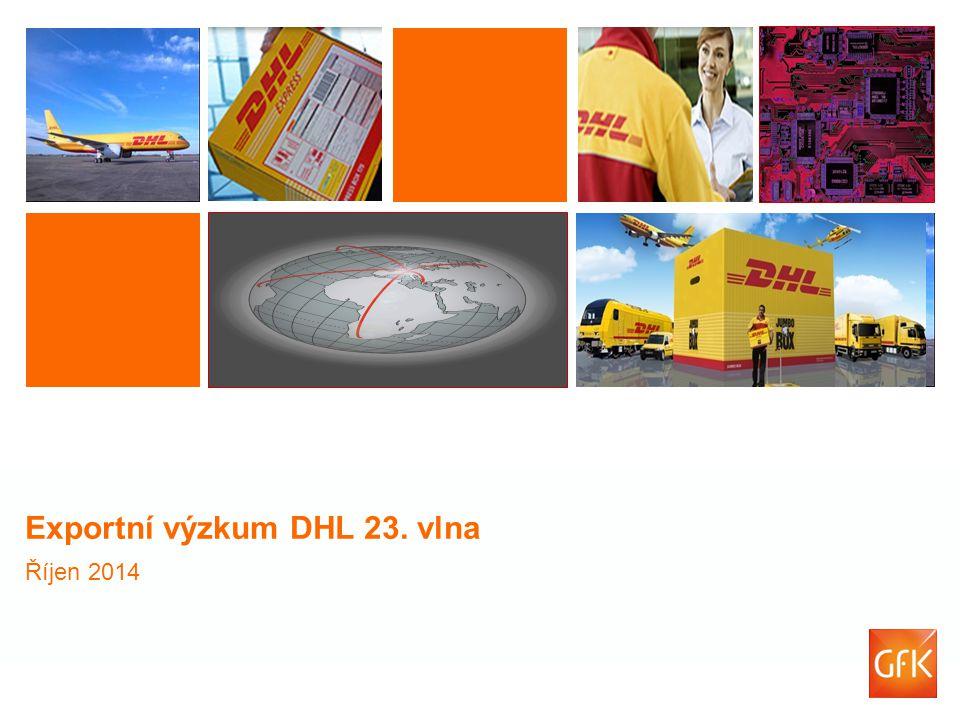 Exportní výzkum DHL 23. vlna