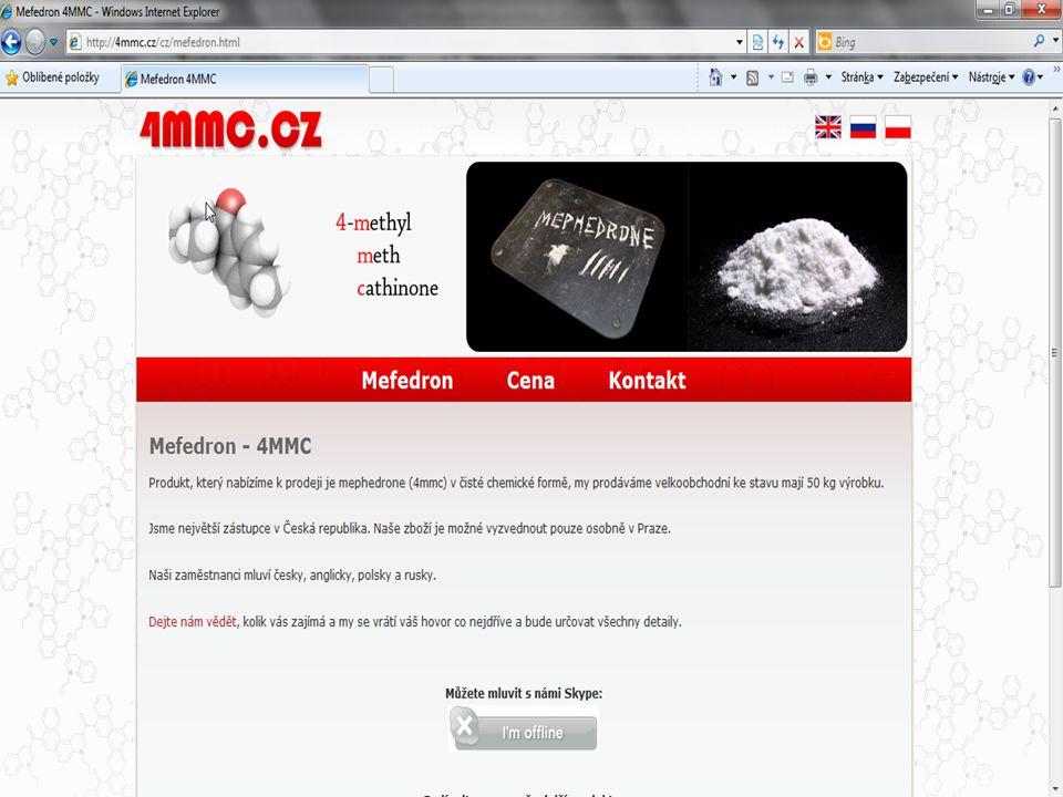 5) Ukázky z praxe 4mmc.cz - Mefedron 4/12/2008