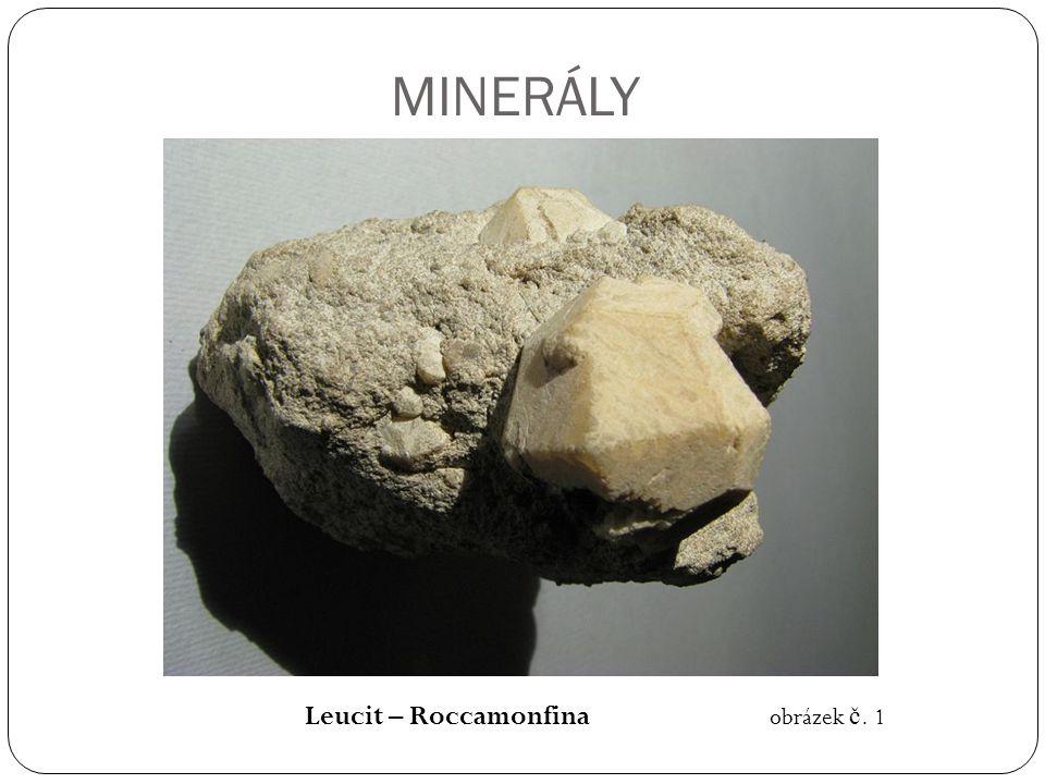 MINERÁLY Leucit – Roccamonfina obrázek č. 1