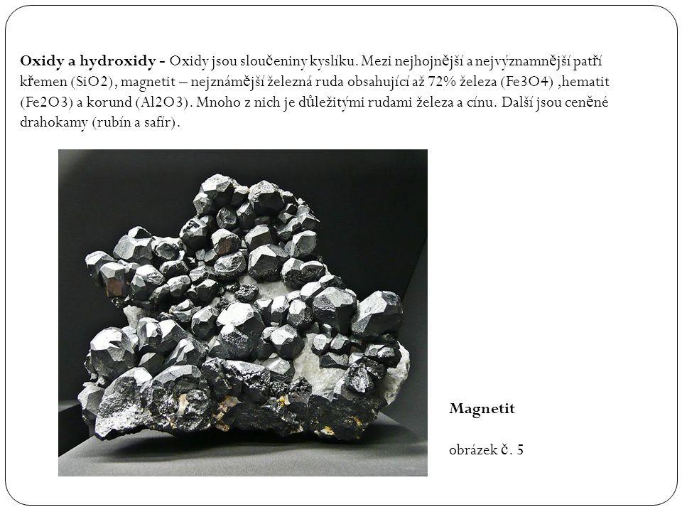 Oxidy a hydroxidy - Oxidy jsou sloučeniny kyslíku
