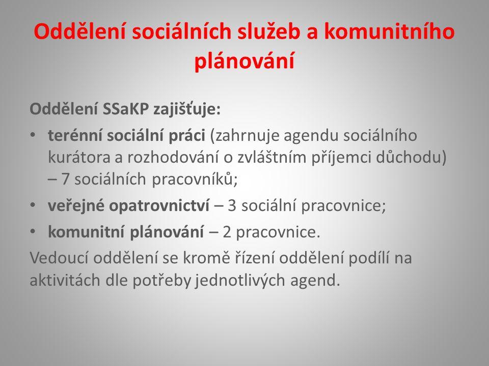 Oddělení sociálních služeb a komunitního plánování