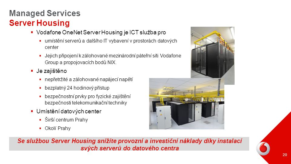 Managed Services Server Housing
