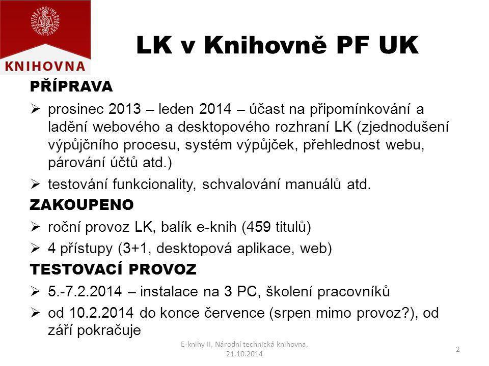 E-knihy II, Národní technická knihovna, 21.10.2014