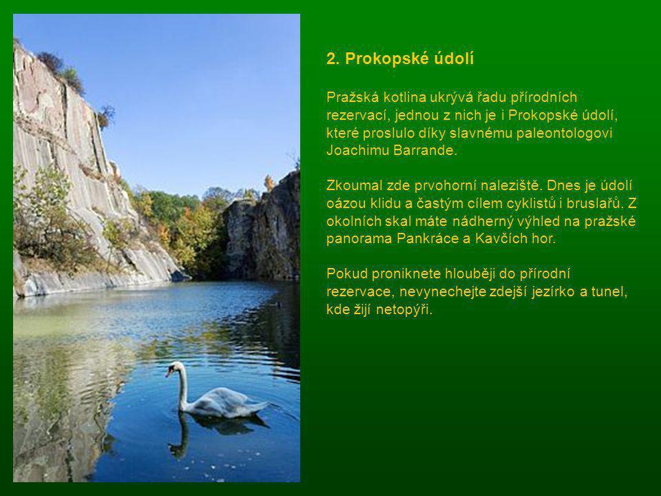 2. Prokopské údolí