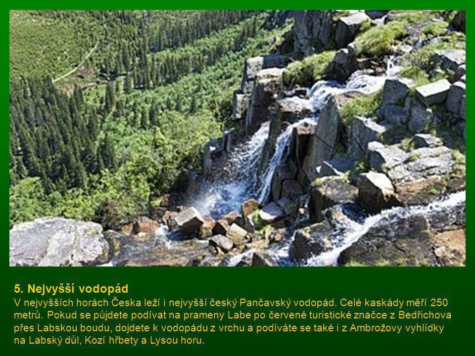 5. Nejvyšší vodopád