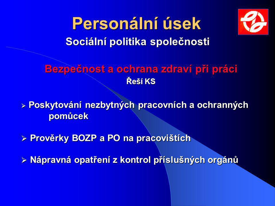 Sociální politika společnosti Bezpečnost a ochrana zdraví při práci