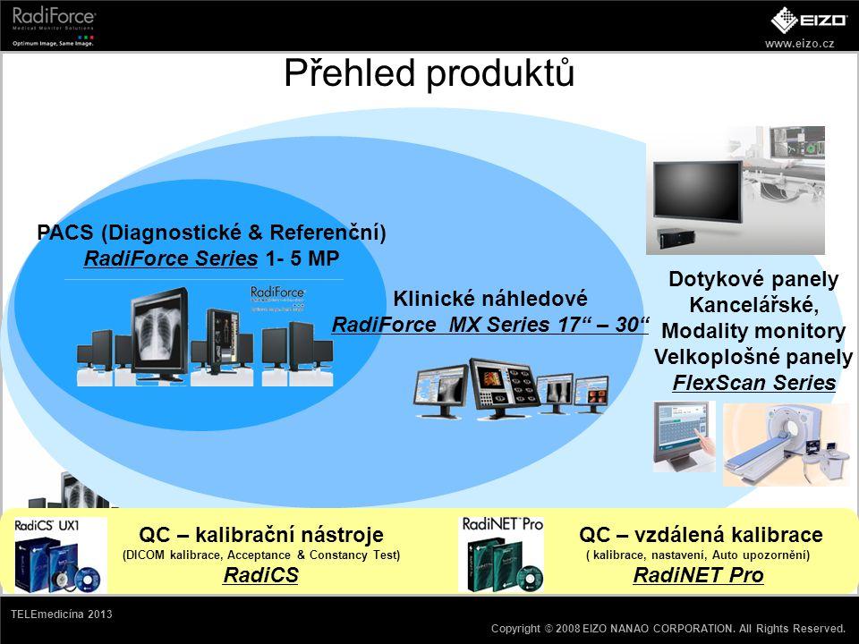 Přehled produktů PACS (Diagnostické & Referenční)