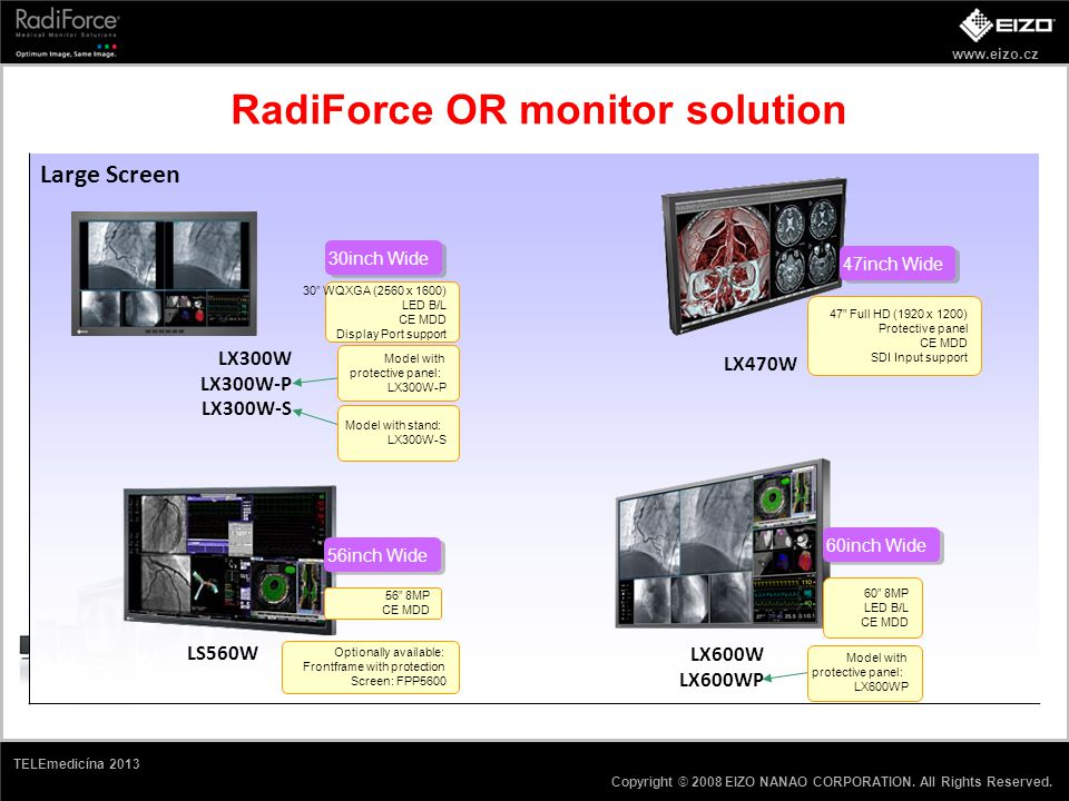 RadiForce OR monitor solution