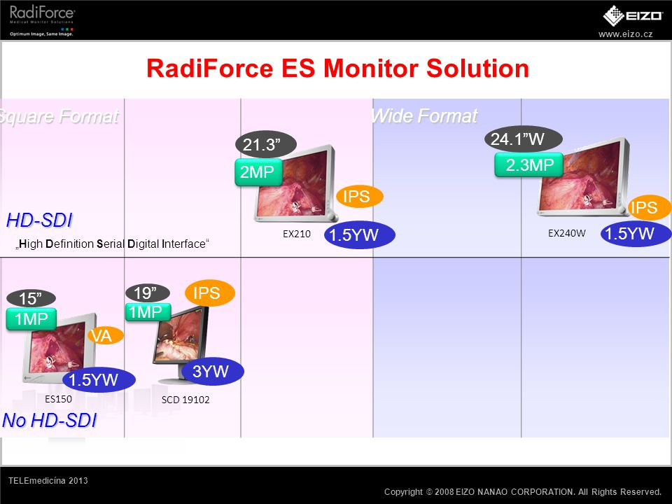 RadiForce ES Monitor Solution