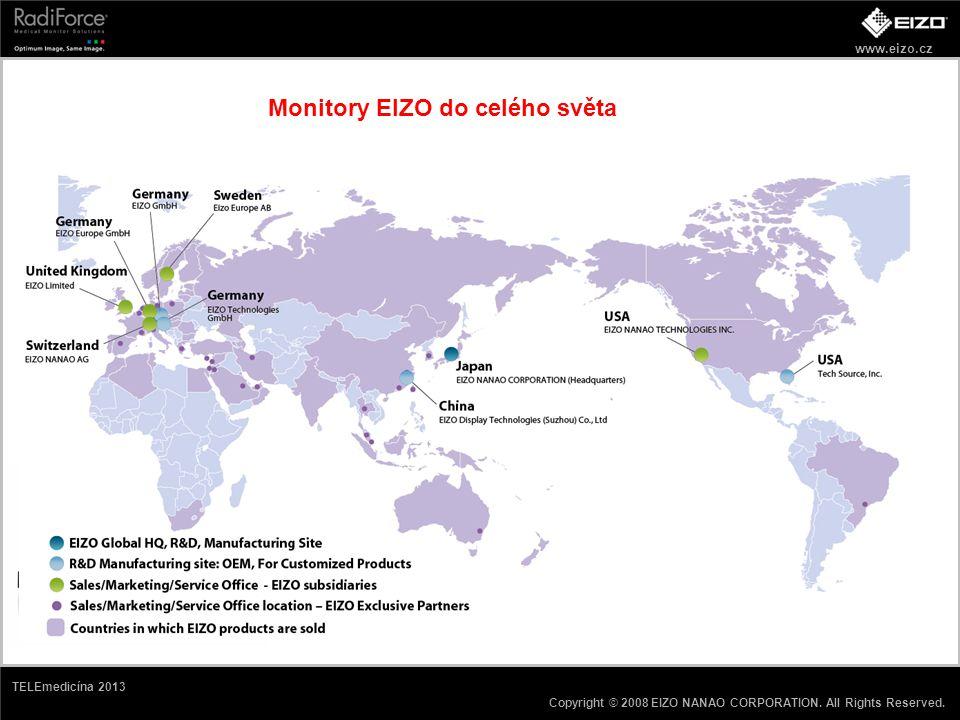 Monitory EIZO do celého světa