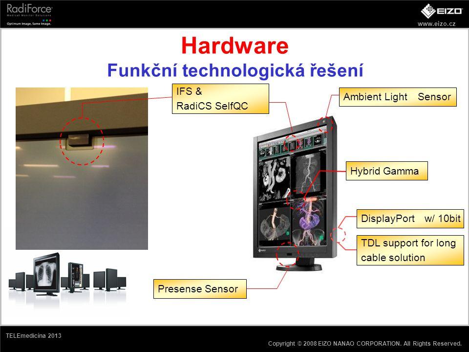 Hardware Funkční technologická řešení