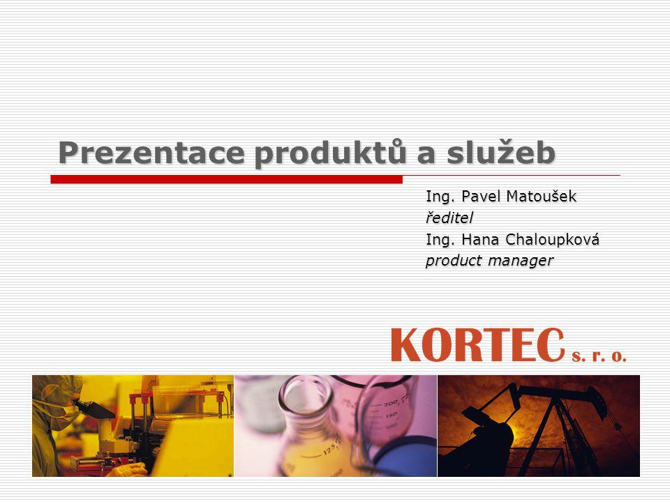 Prezentace produktů a služeb