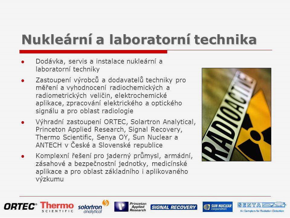 Nukleární a laboratorní technika