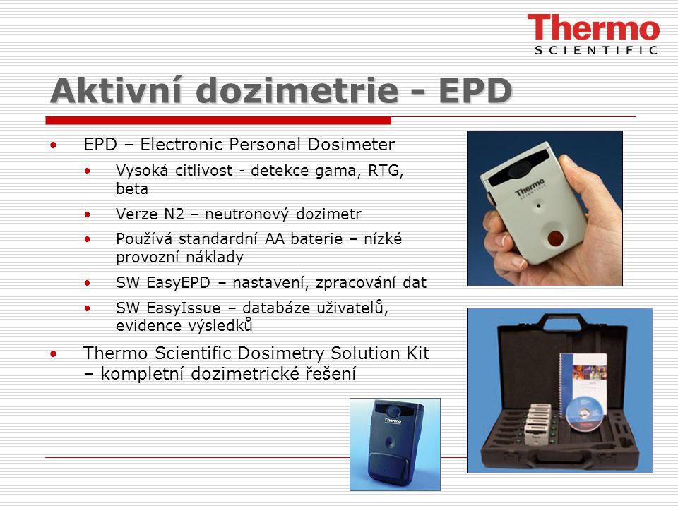 Aktivní dozimetrie - EPD