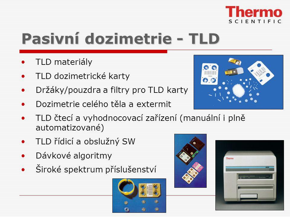 Pasivní dozimetrie - TLD