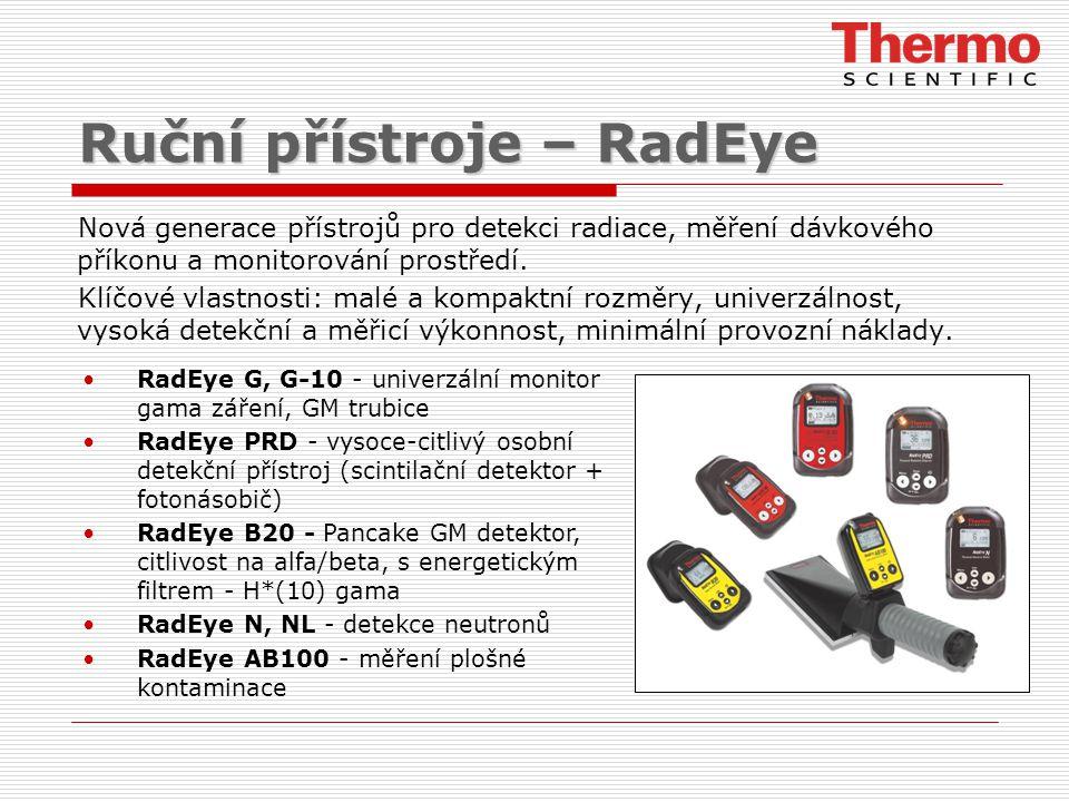 Ruční přístroje – RadEye