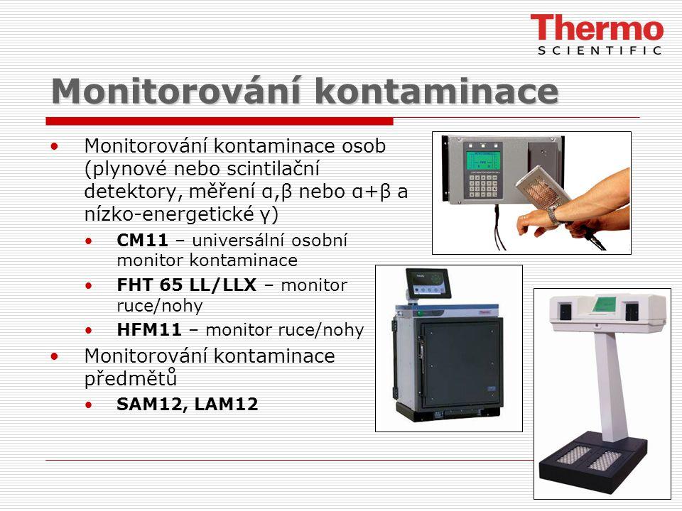 Monitorování kontaminace