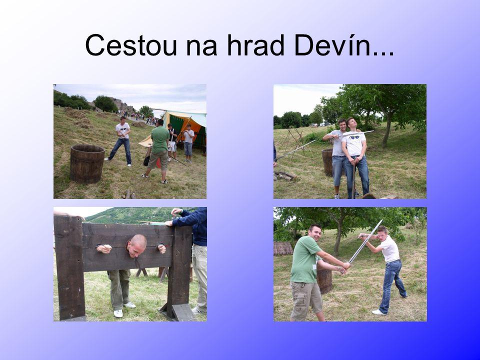 Cestou na hrad Devín...