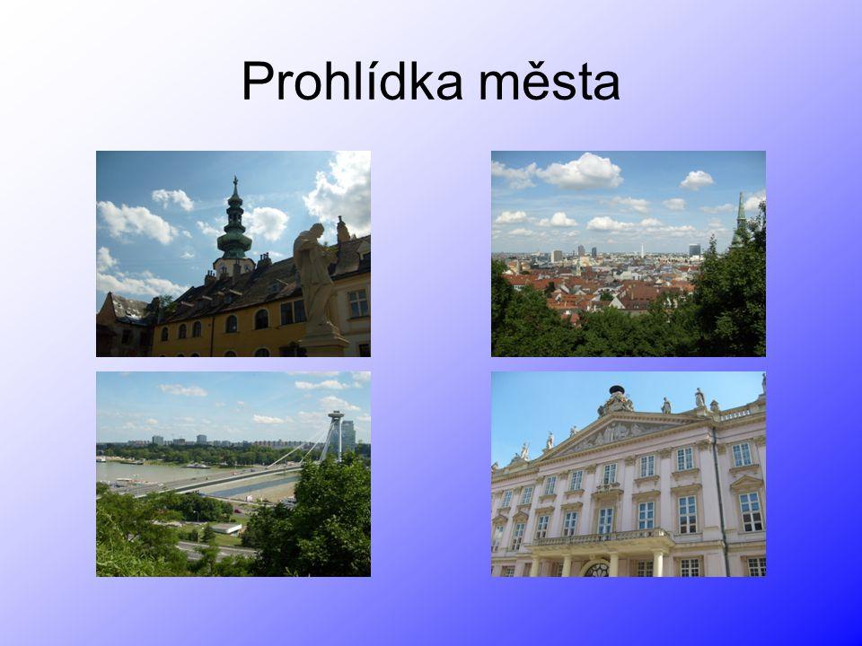 Prohlídka města