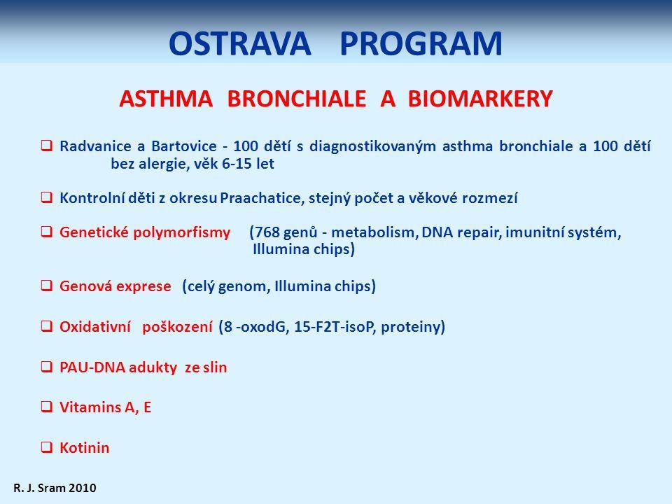 ASTHMA BRONCHIALE A BIOMARKERY