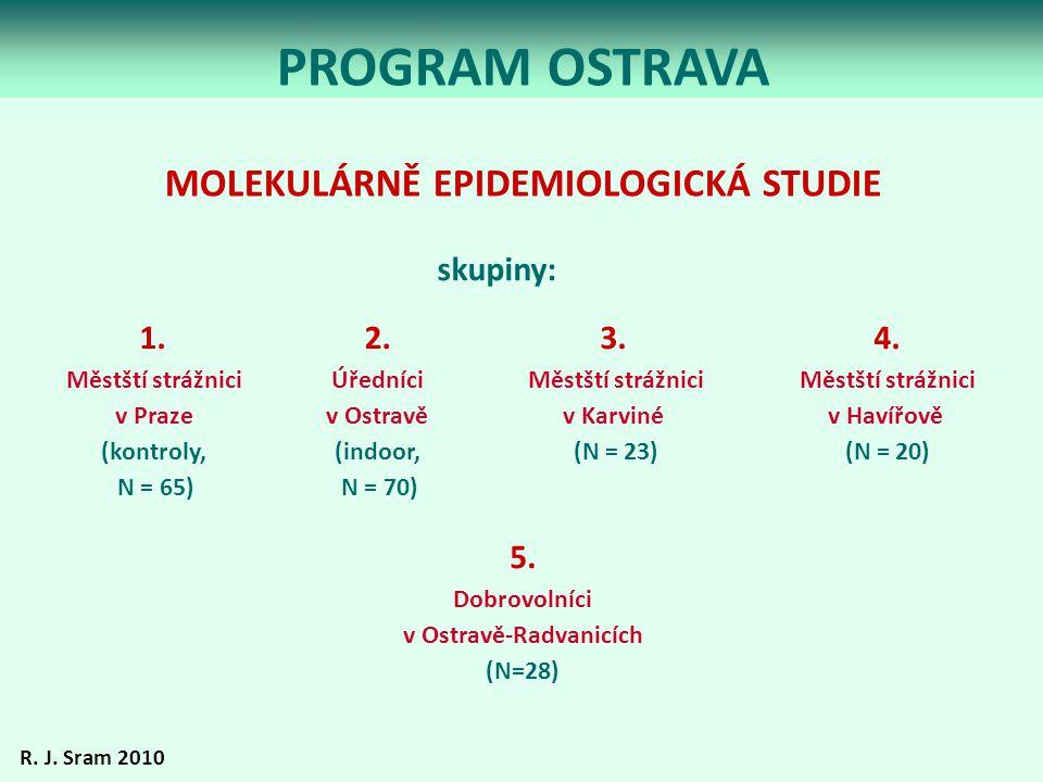 MOLEKULÁRNĚ EPIDEMIOLOGICKÁ STUDIE v Ostravě-Radvanicích