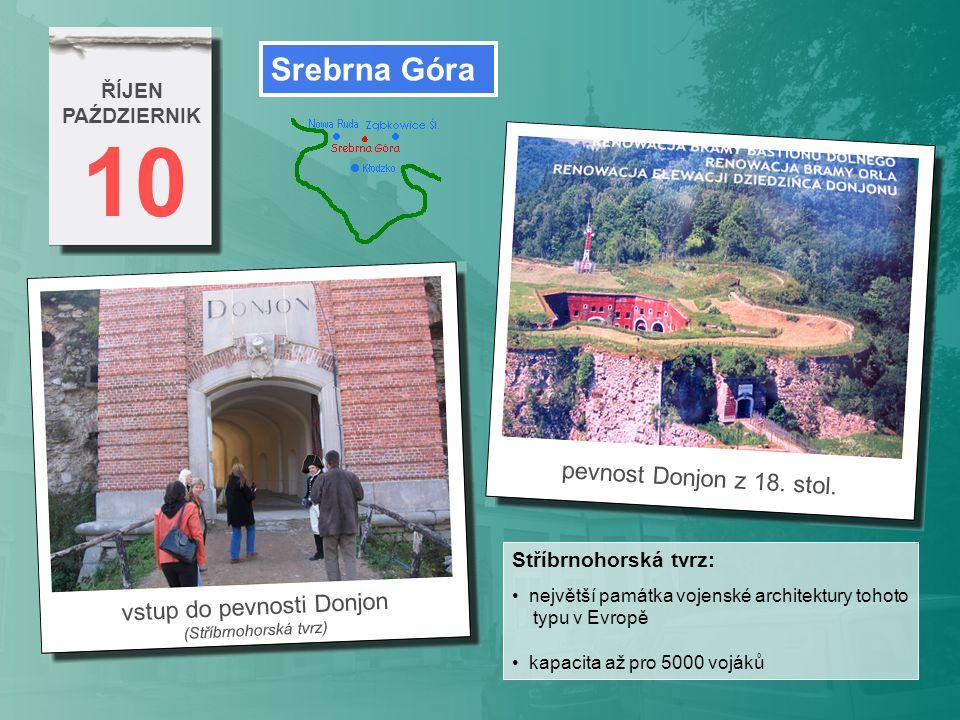 10 Srebrna Góra pevnost Donjon z 18. stol. vstup do pevnosti Donjon