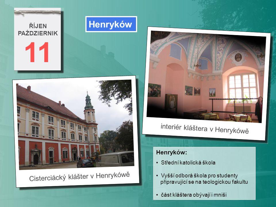 11 Henryków interiér kláštera v Henrykówě