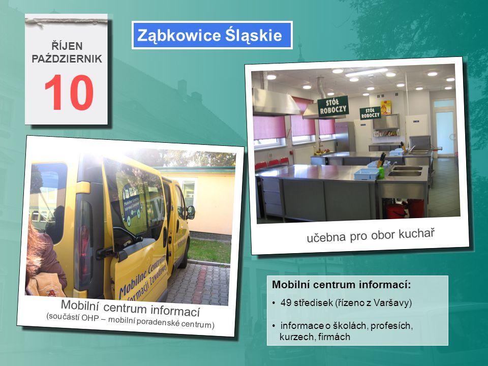 10 Ząbkowice Śląskie učebna pro obor kuchař Mobilní centrum informací