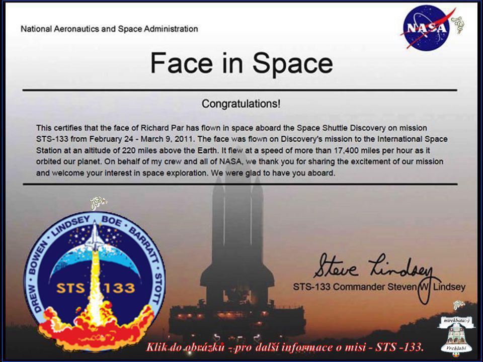 Klik do obrázků - pro další informace o misi - STS -133.