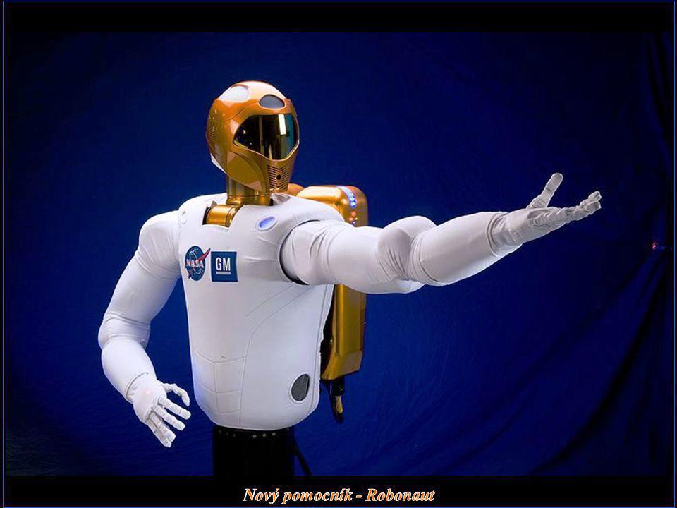 Nový pomocník - Robonaut