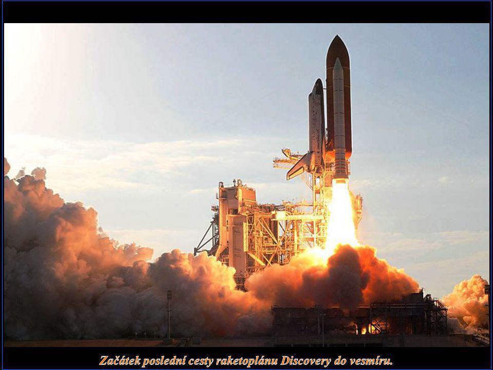 Začátek poslední cesty raketoplánu Discovery do vesmíru.