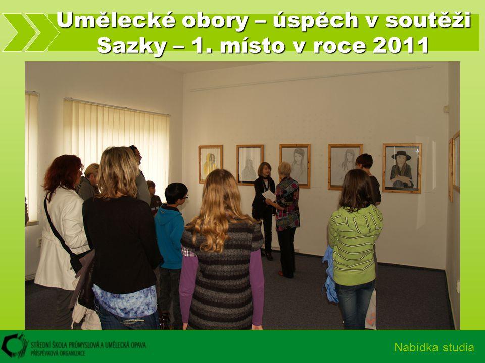 Umělecké obory – úspěch v soutěži Sazky – 1. místo v roce 2011