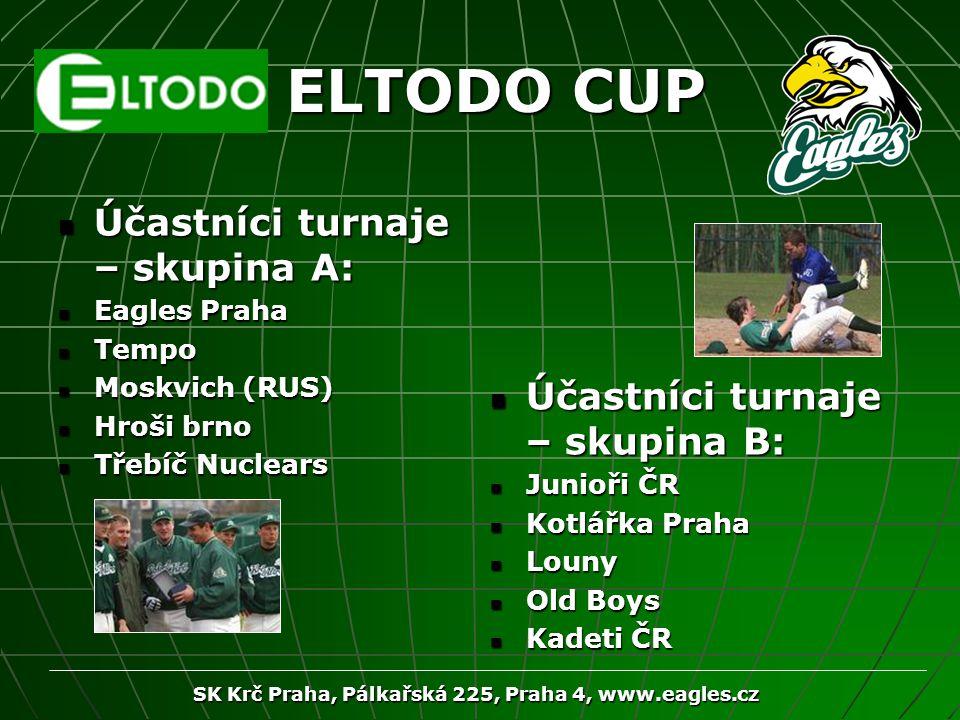 SK Krč Praha, Pálkařská 225, Praha 4, www.eagles.cz