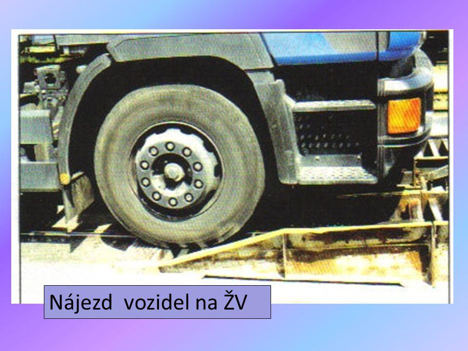 Nájezd vozidel na ŽV